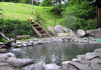 中村屋の露天風呂