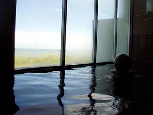 晩成温泉の内風呂