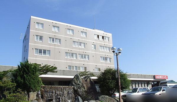 虎杖浜温泉ホテル外観