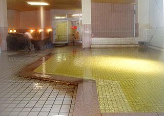 虎杖浜温泉ホテルの内風呂