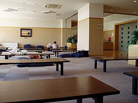 豊浦温泉しおさいの無料休憩コーナー