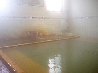 鯉川温泉旅館の男性内風呂