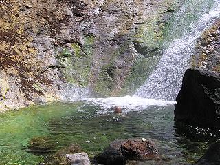 カムイワッカ 四の滝