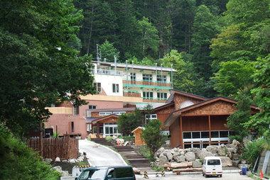 2014-08月再開前のかんの温泉